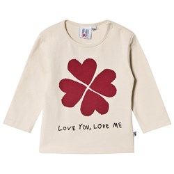 Beau Loves Love You Love Me Baby T-shirt Natural