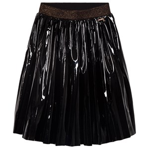 Image of Guess Black Pleather Pleated Skirt 10 years (1625800)