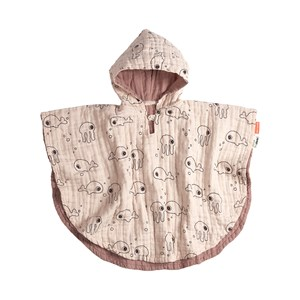 Image of Done by Deer Sea Friends Bath Poncho Pulver pink One Size (1581333)