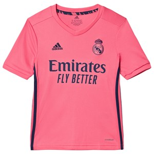 Image of Real Madrid Real Madrid Away T-shirt Spring Pink 11-12 years (152 cm) (1615821)