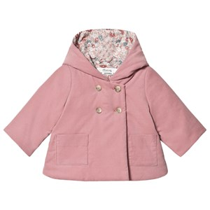 Image of Bonpoint Mini Cord Hooded Jacket Hooded Jacket Pink 18 months (1651115)