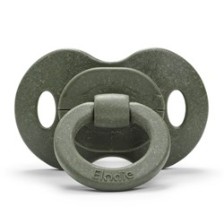Elodie Natural Rubber Bamboo Pacifier Rebel Green 3m+