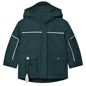 Image of Gullkorn Design Kong Padded Jacket Deep Green 104 cm (3-4 år) (1649492)
