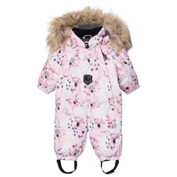 Lindberg Frosty Baby Coverall Pink