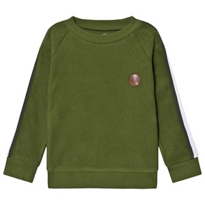 Image of Gullkorn Design Knaust Sweatshirt Pesto Green 110/116 cm (1649394)