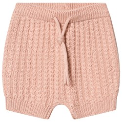 FUB Baby Cable Bloomers Pale Pink