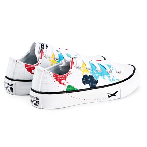 Converse Maps Chuck Taylor All Star Sneakers White