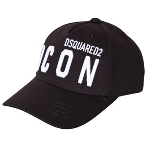 Image of DSquared2 Icon Embroidered Cap Black 2 (8-10 years) (1587762)