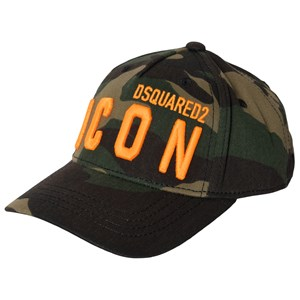 Image of DSquared2 Icon Embroidered Cap Green Camo 1 (4-6 years) (1587764)