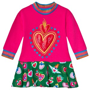 Image of Agatha Ruiz de la Prada Embroidered Heart Kjole Lyserød 12 years (1600931)