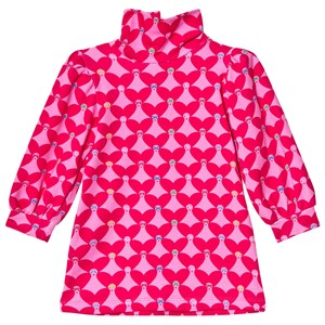 Image of Agatha Ruiz de la Prada Heart Face Dress Pink 6 years (1600983)