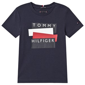 Image of Tommy Hilfiger Tommy Sticker T-shirt Navyblå 5 years (1640310)