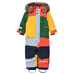 Didriksons Björnen 4 Coverall Multicolor