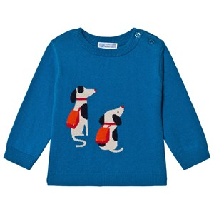 Image of Jacadi Backpack Dogs Sweater Blue 24 months (1665066)