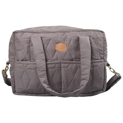 Filibabba Mommy Soft Quilt Changing Bag Gray