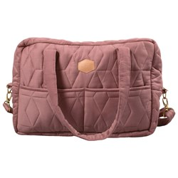 Filibabba Mommy Soft Quilt Changing Bag Rose