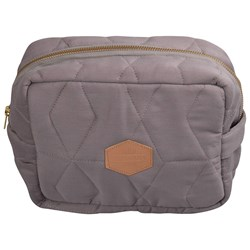Filibabba Quilted Toiletry Bag Gray
