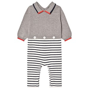 Image of Jacadi 2-in-1 One-piece Navy 12 months (1664970)