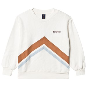 Image of Bonmot Organic Mountains Sweatshirt Ecru 4-5 år (1642733)