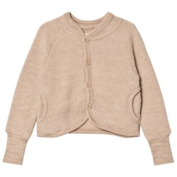 Kuling Wool Fleece Jacket Sand Melange