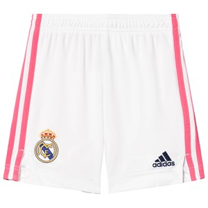 Image of Real Madrid Real Madrid Home Shorts Hvidt 9-10 years (140 cm) (1615815)
