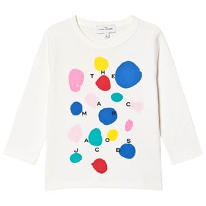 Image of The Marc Jacobs Circle Logo T-shirt Off white 10 years (1616245)