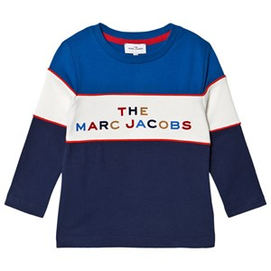 Image of The Marc Jacobs Contrast Logo Tee Blue 10 years (1616486)