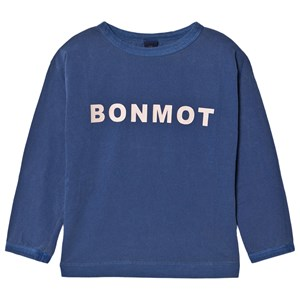 Image of Bonmot Organic Bonmot Top Sea Blue 4-5 år (1642693)