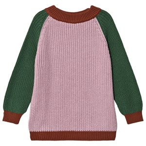 Image of Bonmot Organic Knitted Crew Twin Sweater Tan Rose 6-7 år (1642820)