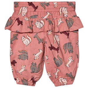 Image of Minymo Cat Sweatpants Old Rose 68 cm (4-6 mdr) (1584249)