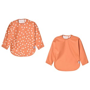 Image of Buddy & Hope 2-Pack Sleeved Bib Sun Baked Dots One Size (1586788)