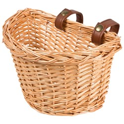 STOY Willow M Bicycle Basket Brown