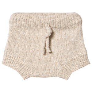 Image of Mini Sibling Baby Knit Bloomers Oat 12-18 mdr (1669976)