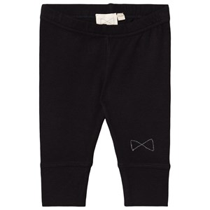 Image of Mini Sibling Jersey Pants Black 0-3 mdr (1669990)