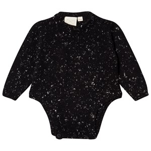 Image of Mini Sibling Knit Baby Body Black 0-3 mdr (1669999)