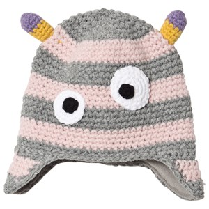 Image of Barts Monster Hat Pink 47cm (12-18 months) (1669929)