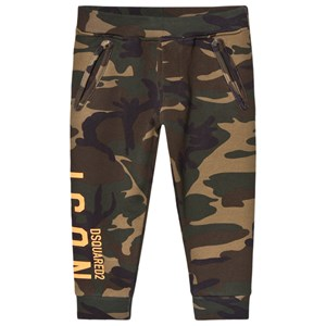 Image of DSquared2 Camo Print Sweatpants Green 10 years (1587757)