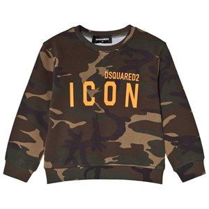 Image of DSquared2 Camo Print Sweater Green 10 years (1587729)