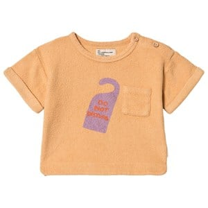 Image of Piupiuchick Do Not Disturb Terry T-shirt Caramel 12 mdr (1600212)