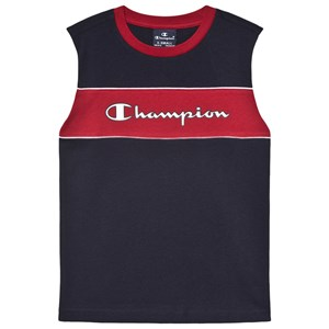 Image of Champion Branded Colorblock T-shirt Navyblå 5-6 years (1598449)