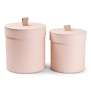 Image of JOX 2-Pack Round Boxes Pink One Size (1644933)