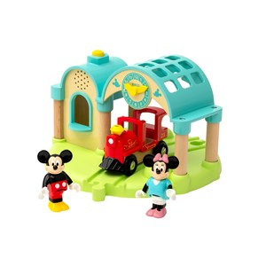 Image of BRIO BRIO® World - 32270 Mickey Mouse Record & Play Station Togsæt 3+ years (1626154)