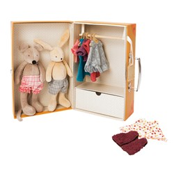 Moulin Roty The little Wardrobe Suitcase