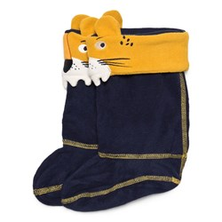 Tom Joule Smile Rain Boot Socks Navy