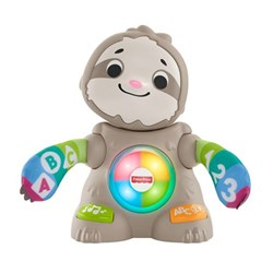 Fisher Price Linkimals Smooth Moves Sloth Activity Toy White