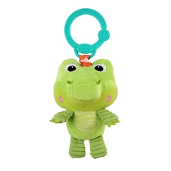 Bright Starts Take n Shake Croc On-the-go Toy Green