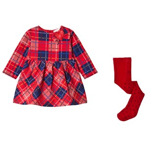Image of Agatha Ruiz de la Prada Color Block Dress Set Red 9 months (1589958)
