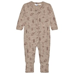 Joha Jumpsuit With 2In1 Foot Old Pink