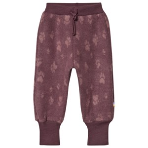 Image of Joha Fleece Paw Pants Bordeaux 80 cm (9-12 mdr) (1648872)