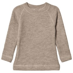 Joha Ribbed Sweater Beige
